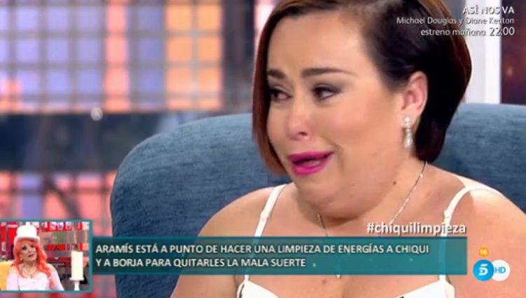 Chiqui pidiendo trabajo en el 'Deluxe' / Telecinco.es