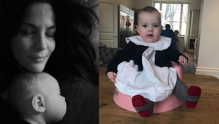 Liv Tyler con su pequeña Lula Rose / Instagram