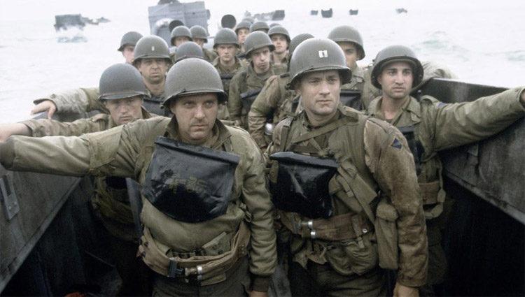 Fotograma de la película de 1998 'Salvar al Soldado Ryan'
