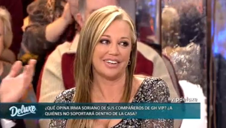 Belén Esteban, muy agradecida por las palabras de Irma Soriano / Telecinco.es