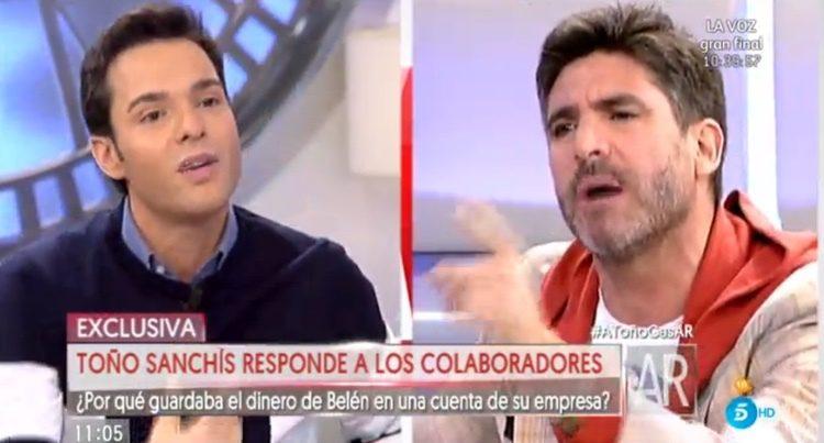 Toño Sanchís contesta a Antonio Rossi/ telecinco.es