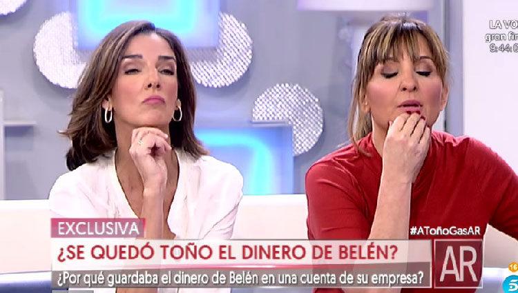Paloma y Beatriz, colaboradoras de 'AR'/ telecinco.es