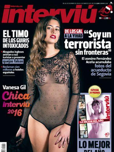 Interviú Desnuda A Vanesa Gil Chica Interviú 2016 Bekia Actualidad