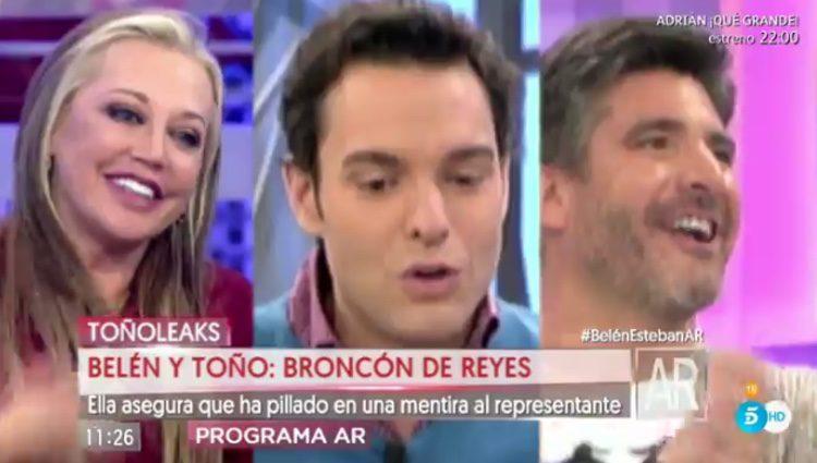 Antonio Rossi en 'El Programa de Ana Rosa' / Foto: Telecinco