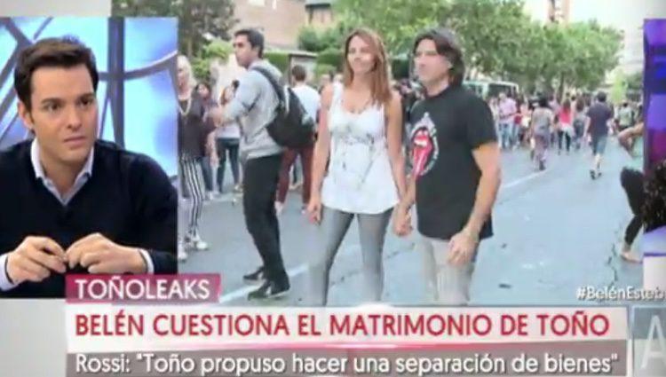 La guerra entre Belén Esteban y Toño Sanchís continúa / Foto: Telecinco