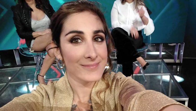 Tirana, la hija de Irma Soriano, nerviosa en el plató de 'GH VIP5'
