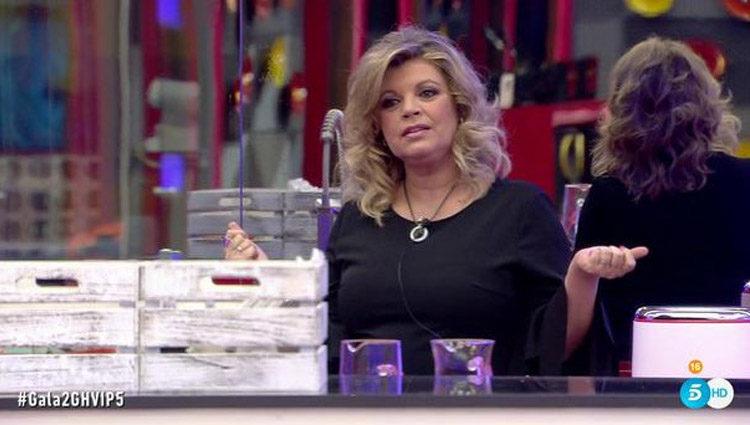 Terelu Campos en la cocina de 'GH VIP'   telecinco.es