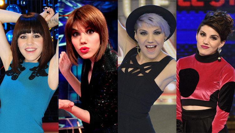 Distintos looks de Angy en los distintos programas en los que ha participado