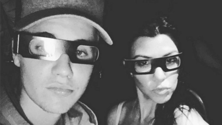 Justin Bieber y Kourtney Kardashian en el 2015/ Fuente: Justin Bieber Instagram