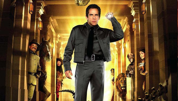 Ben Stiller es Larry Daley en la saga 'Noche en el museo'