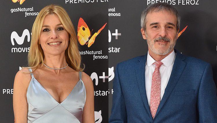 Los hermanos Guillén Cuervo en la gala de los Premios Feroz 2017