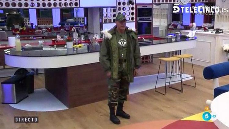 El Sargento Matamoros llega a la casa de Guadalix de la Sierra | telecinco.es