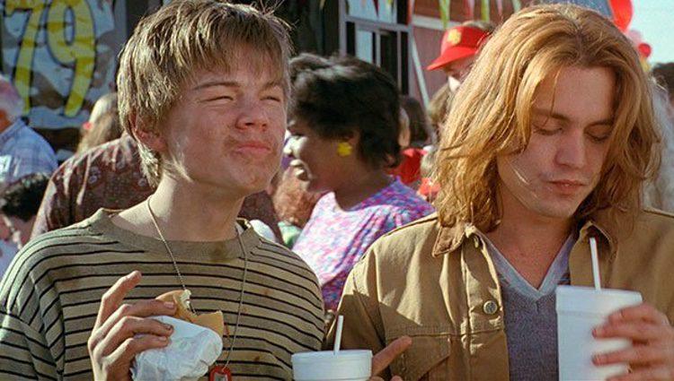 Leonardo DiCaprio y Johnny Depp en la película que hicieron juntos