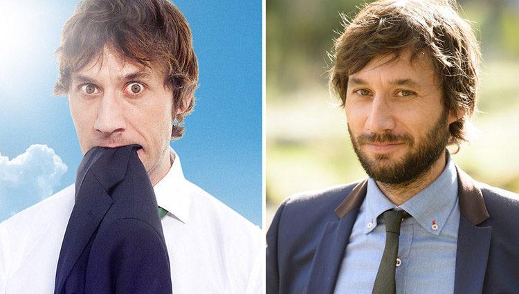 Raúl Fernández en 'Con el culo al aire' (izq) y en 'Algo que celebrar' (der)