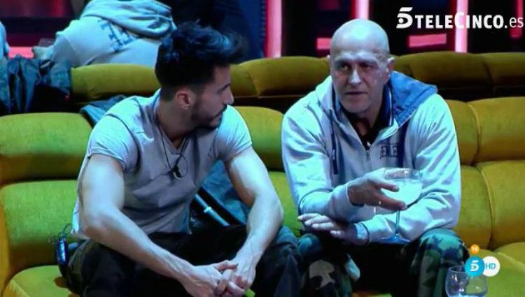 Marco habla de su novia con Kiko Matamoros | telecinco.es