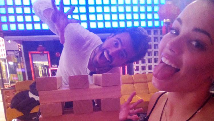 Marco Ferry y Alyson Eckmann durante una fiesta en la casa | telecinco.es