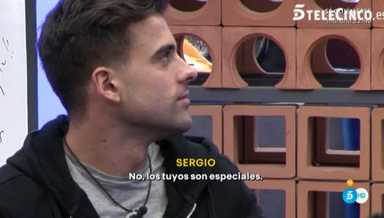Sergio Ayala le dice a Ivonne Reyes lo que le parecen sus besos | telecinco.es