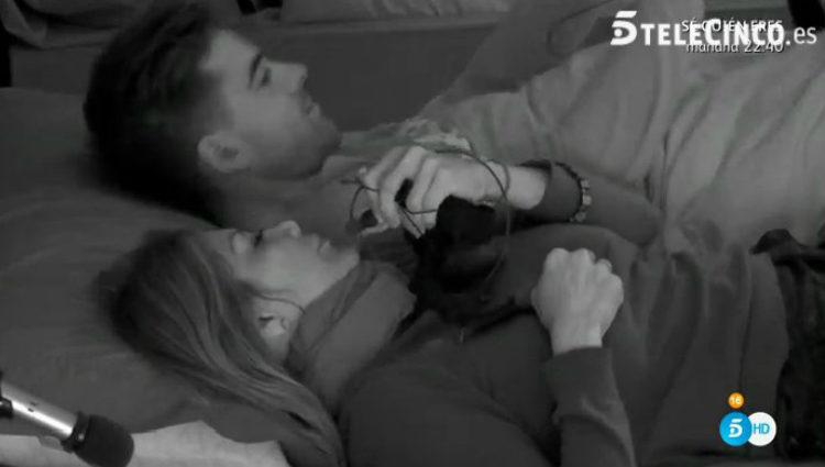 Ivonne Reyes se tumba en la cama de Sergio Ayala | telecinco.es