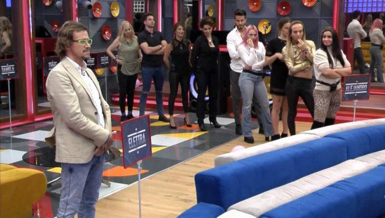 Todos los concursantes se posicionan contra Alejandro Abad | telecinco.es