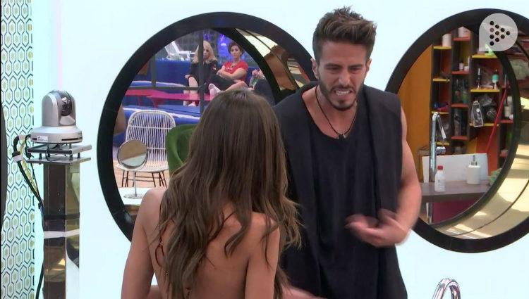 Marco y Aylén continúan su conversación en la intimidad | telecinco.es