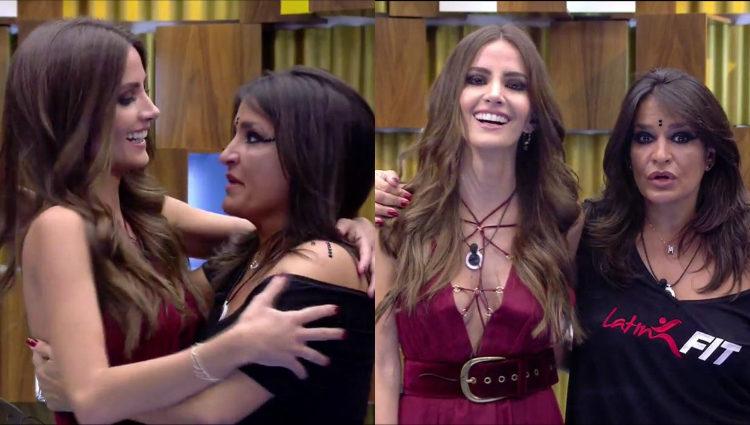 El cariñoso reencuentro entre Aylén y Aída | telecinco.es