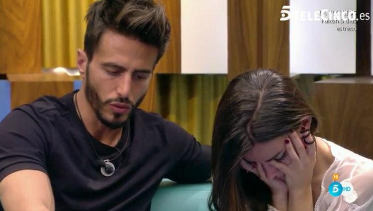 Aylén discute con Marco si ponerse a disposición de la audiencia para ser concursante | telecinco.es