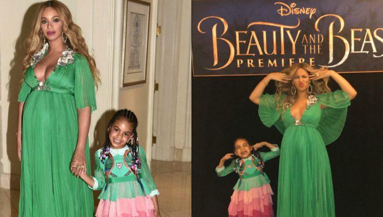 Beyoncé posa divertida y feliz junto a Blue Ivy