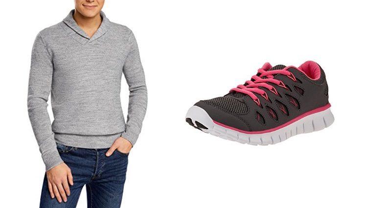 Jersey y zapatillas de deporte