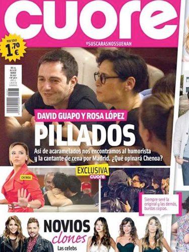 La complicidad de Rosa López y David Guapo