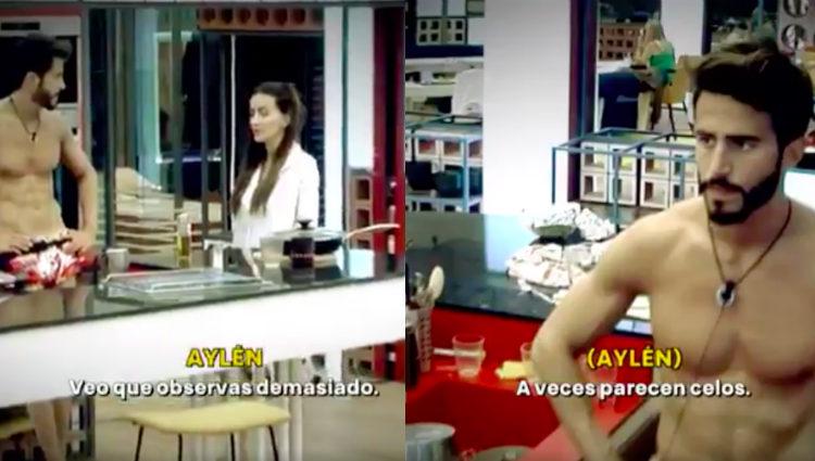 Marco y Aylén comentan el 'edredoning' de Antônio y Alyson | telecinco.es