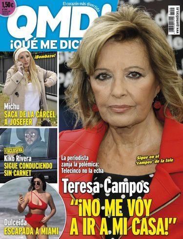 Kiko Rivera en la portada de Qué me dices