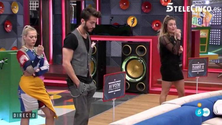 Marco y Daniela se posicionan contra Alyson y ella contra Daniela | telecinco.es