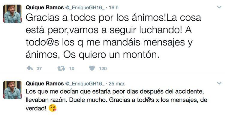 Enrique Ramos explica lo mal que se encuentra