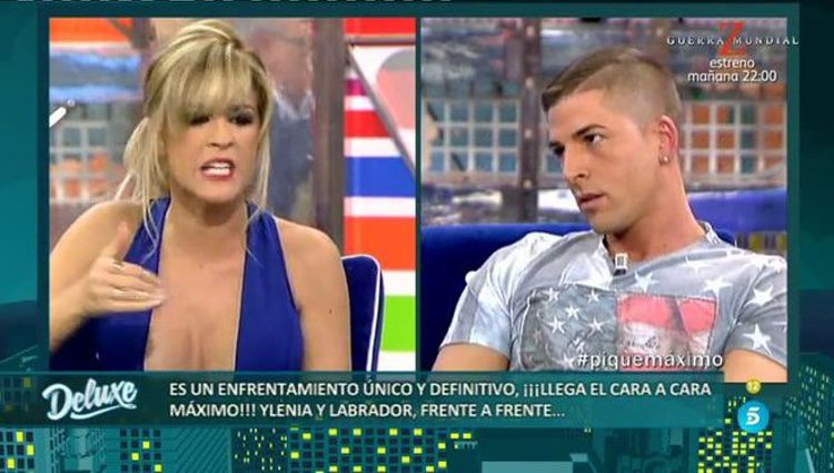 Ylenia y Labrador enfrentados en el pasado/ Fuente: telecinco.es