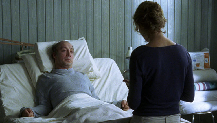 Javier Bardem en la piel de Ramón Sampedro en 'Mar adentro'