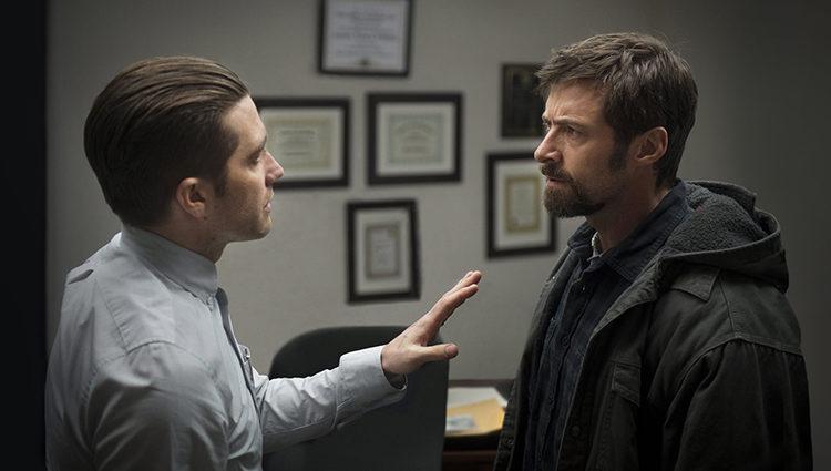 Jake Gyllenhaal y Hugh Jackman en 'Prisioneros'