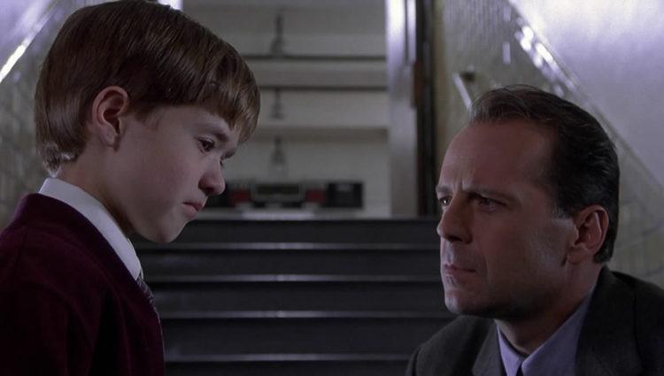 Osment y Willis en 'El sexto sentido'
