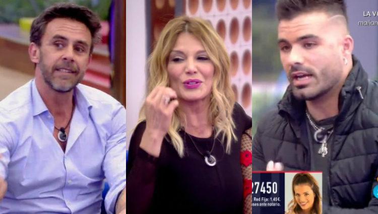 Alonso, Ivonne y Tutto quieren que gane Emma, Irma y Alysom, respectivamente | telecinco.es