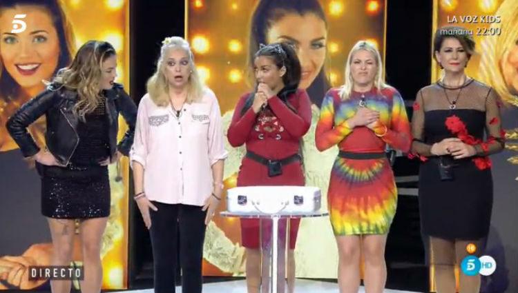La falsa final para anunciarle a las concursantes que son finalistas | telecinco.es
