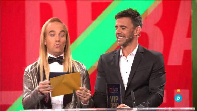 Aless Gibaja y Alonso Caparrós otorgan a Irma el premio a la que más ha llorado | telecinco.es