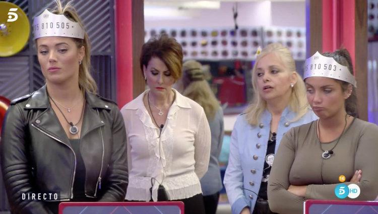 Alyson, Elettra, Irma y Emma no quieren a Daniela en la gran final | telecinco.es