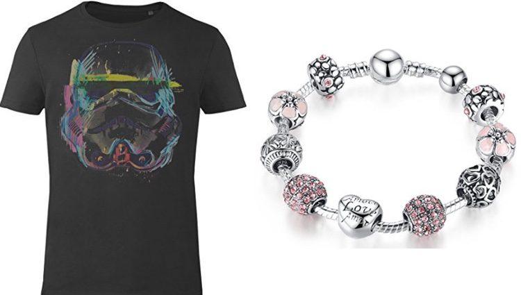 Camiseta y pulsera