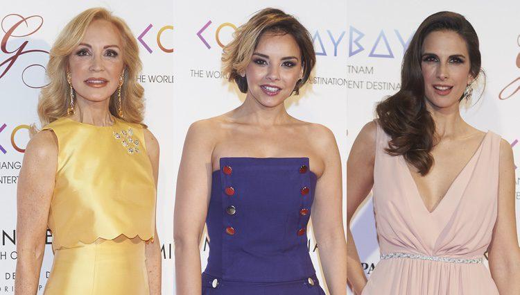 Carmen Lomana, Chenoa y Nuria Fergó deslumbraron con los diseños escogidos en a Global Gift Gala 2017 de Madrid