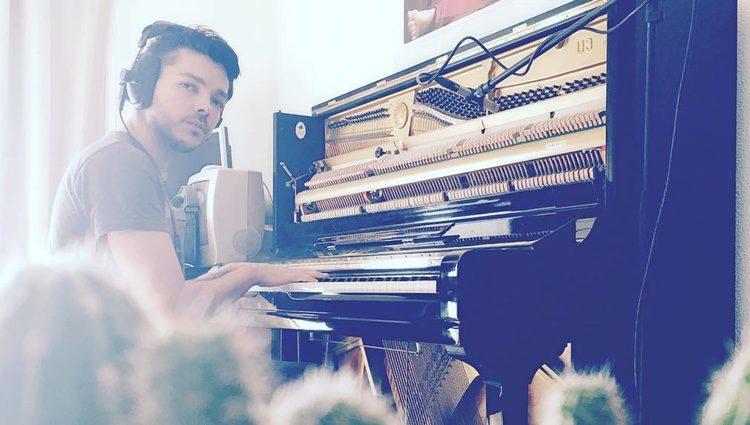 Sergio Rivero al piano / Instagram