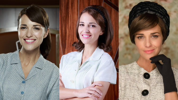 La distintas caras de Paula Echevarría como Ana Ribera en 'Velvet'
