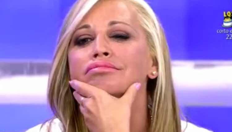 Belén Esteban, muy dolida con Jesulín / Telecinco.es