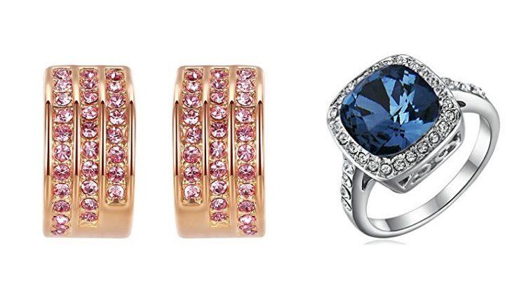 Pendientes y anillo