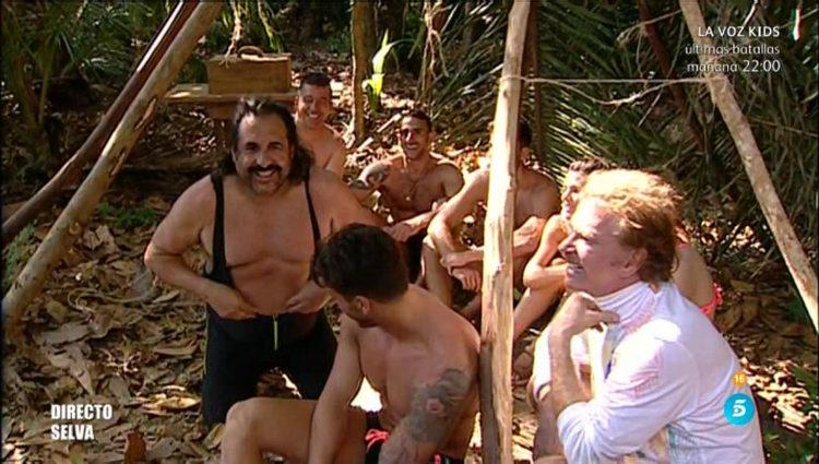 El otro grupo aguarda en la selva | telecinco.es