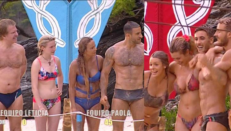 El equipo de Leticia se va al 'infierno' y el de Paola al 'cielo' | telecinco.es
