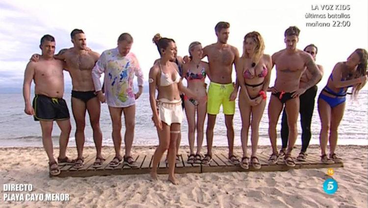 Los 10 concursantes en solitario se reúnen en Cayo Menor | telecinco.es